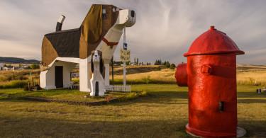 Dog Bark Park, Cottonwood Idaho