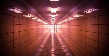 Hallway in The Glen Canyon Dam Facility